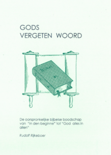 Kaft Gods vergeten woord